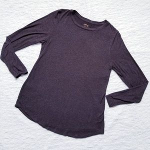 Women's Apt. 9® Essential Long Sleeve Crew Neck Te